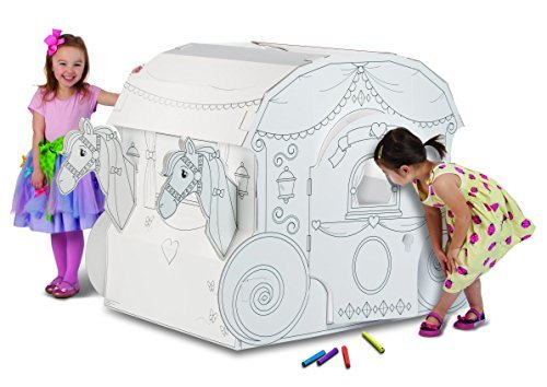 My Very Own House Coloring Playhouse, Princess - Own Very House