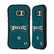 Official NFL Distressed Philadelphia Eagles Logo Hybrid Case for Samsung Galaxy S6 edge+ / Plus