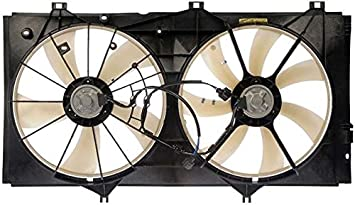 Cooling Direct For//Fit IN3115104 03-08 Infiniti FX35 Dual Radiator and Condenser Fan Assembly