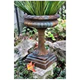 OrlandiStatuary FS34009 High Neck Urn Sculpture, 16