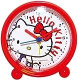 サンリオ 目覚まし時計 ラウンドアラームクロック アナログ表示 ハローキティ 176149