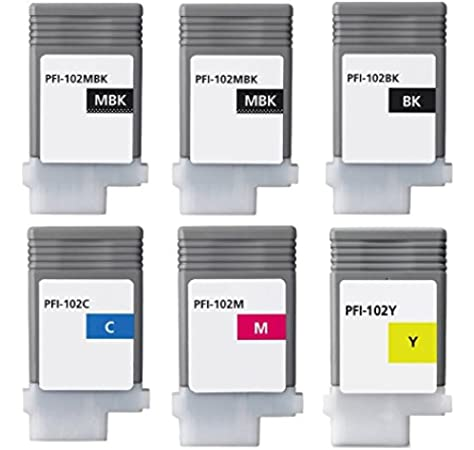 XL-Ink Compatible Cartdirges for Canon PFI-102: Amazon.es: Electrónica