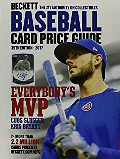 Book Cover: Beckett Baseball Card Price Guide 2017