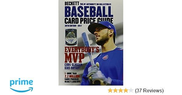 Beckett Baseball Card Price Guide 39 Beckett Collectibles