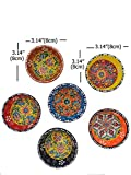 Ayennur Decorative Turkish Ceramic Bowl Set of 6