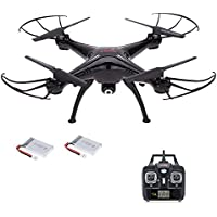 Goolsky SYMA X5SC 2.4G 6-Axis Gyro 2.0MP Camera Drone Headless Mode 3D Flip RC Quadcopter RTF with One Extra Battery