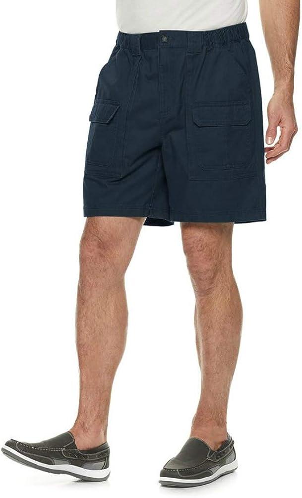 croft Men n Barrow Side Elastic Cargo Shorts.