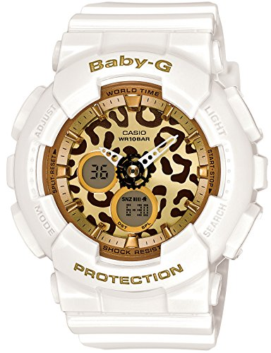 CASIO Watch BABY-G Leopard Series BA-120LP-7A2JF (Casio Baby G-shock Resist)