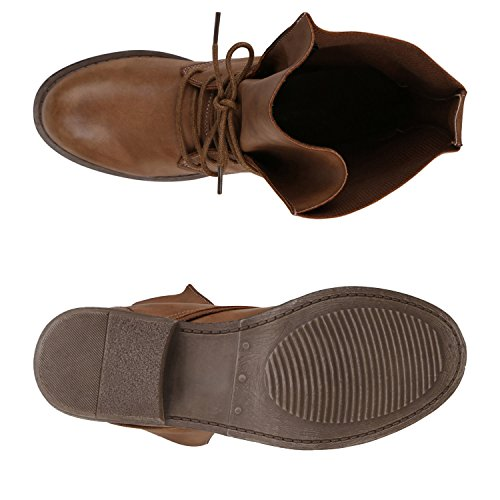 napoli-fashion bottines classiques femme Hellbraun Brown Ii1lrXr