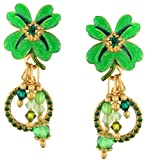 Lunch at The Ritz 2GO USA St. Patrick's Earrings Clips