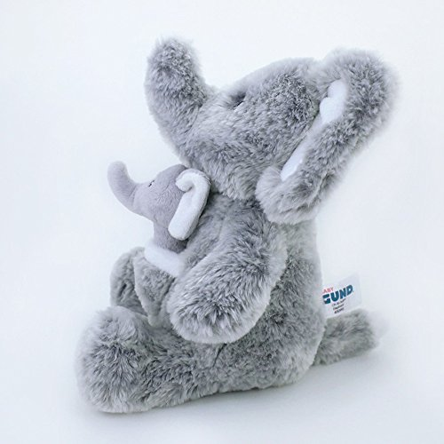 Gund Baby Oh So Soft Elephant & Rattle Combo by GUND (Image #4)