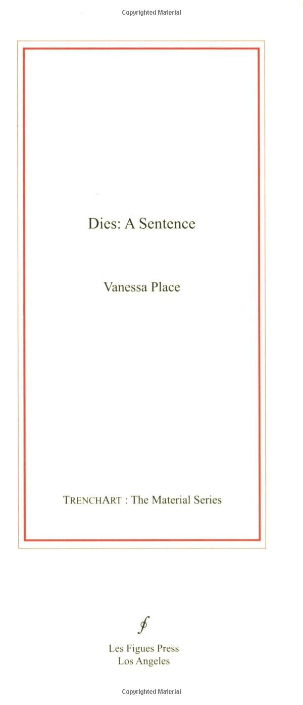 Download Dies: A Sentence (Trenchart: The Material) pdf epub