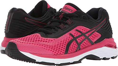 ASICS Women's GT-2000 6 Bright Rose/Black/White 5 B US