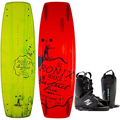 Ronix District Park Wakeboard Mens 138cm + Hyperlite Bindings O/S 8-12