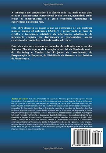 Excel na Simulacao de Sistemas e Analise de Risco (Portuguese Edition): Rui Assis: 9789892044125: Amazon.com: Books