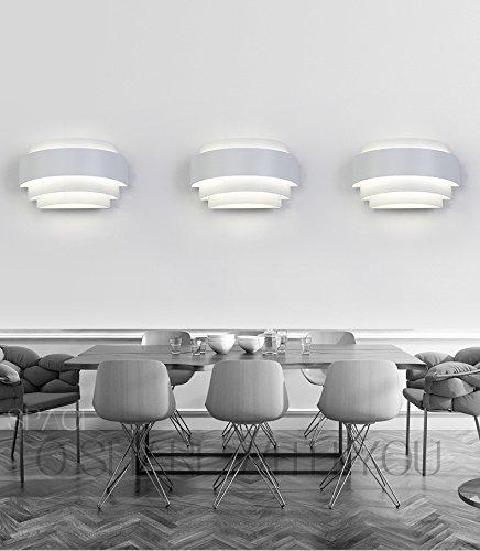 Lightess Moderne 5W LED Wandleuchte Innen Up Und Down Wandleuchten Edison  Lampen Nachtlicht Kreative Dekorative Wandleuchte Für Schlafzimmer  Wohnzimmer Und ...