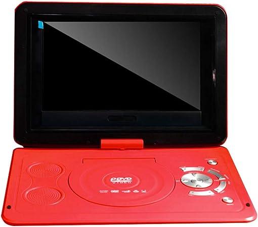 Ashey 12V USB DVD13.9 Pulgadas DVD Móvil Pequeño TV Player 270 Grados De Rotación De Alta Definición De La Pantalla Incorporada Lector De Tarjetas De Alta Velocidad, Función De Soporte De TV: