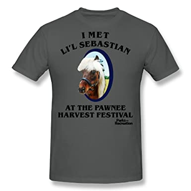 6748f8d11d9 Parks and Recreation Li L Sebastian Mens Short Sleeve Shirt  Amazon.co.uk   Clothing