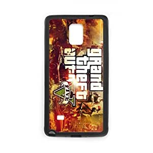 Samsung Galaxy Note 4 Cell Phone Case Black_Grand Theft Auto V_007 TR2470066