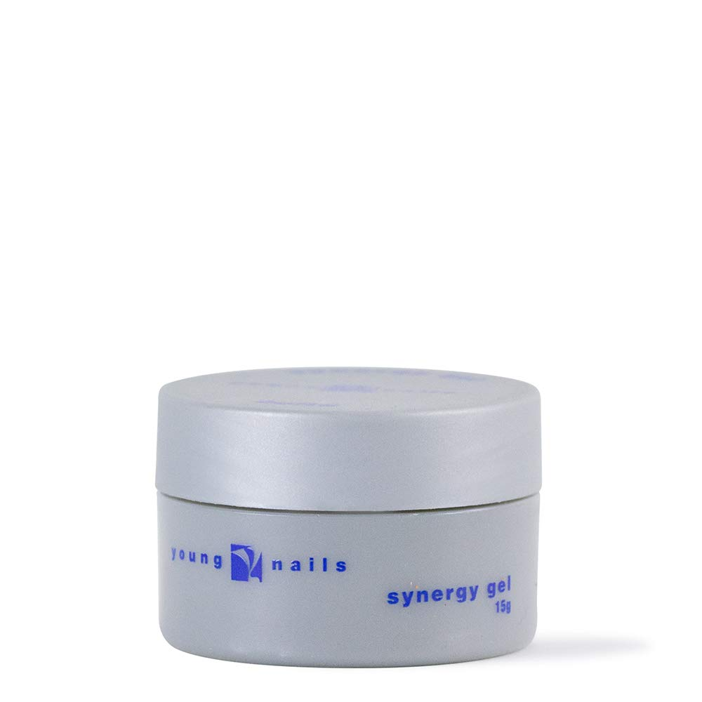 YOUNG NAILS Synergy Base Gel, Clear, 15g by Young Nails