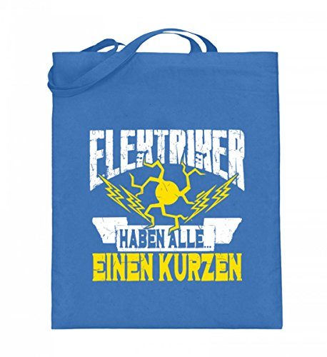 Shirtee 3LXSP6AE_XT003_38cm_42cm_5739 - Bolso de tela de algodón para mujer Azul azul 38cm-42cm Azul