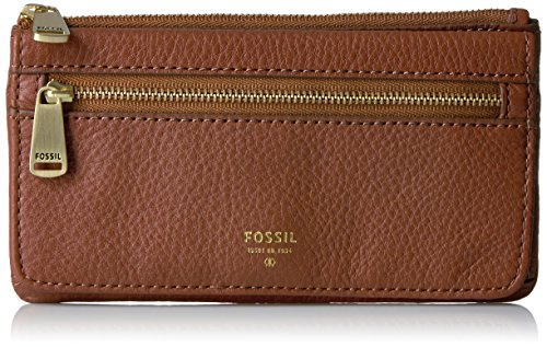 Fossil Preston Flap Wallet, Brown