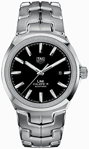 (Tag Heuer Link Automatic Black Dial Mens Watch WBC2110.BA0603)