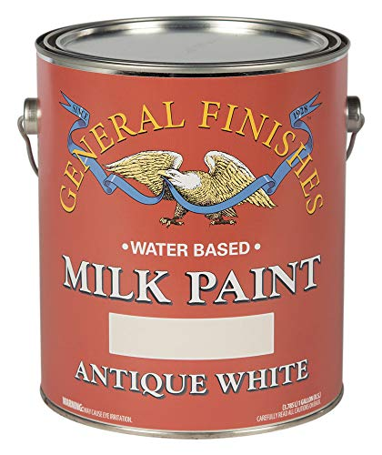 General Finishes Antique White Milk Paint, -