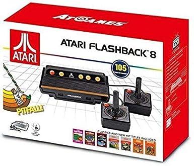 Import Consola Retro Atari Flashback 8 105 Juegos Amazon Es