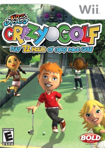 Crazy Golf - Nintendo Wii - Arcade Single Hole