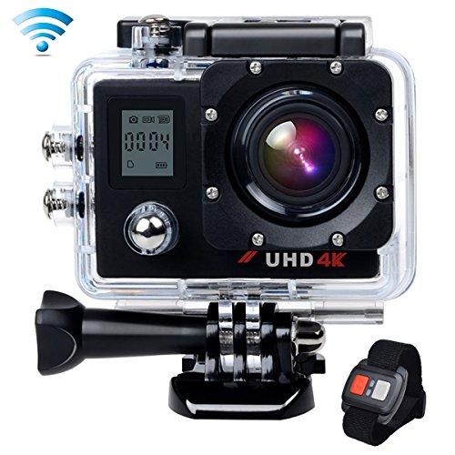 CamparkACT76 アクションカメラ 4K 30fps ウルトラHD アクションカム スポーツカメラ ウェアラブルカメラ 防水 防塵 ハイスペックカメラ 高画質 予備バッテリープレゼントの商品画像
