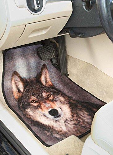 Wolf Car Mats - Wolf Car Seat Mats