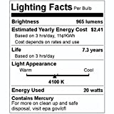 GE Lighting 25186 - 20 Watt CFL Light Bulb