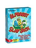 learning kids games - Alphabet Slap Jack, a 4-in-1 ABC Letter Learning Card Game (Slap Jack, Go Fish, Letter Flash Cards, and Other Fun Preschool Alphabet Learning Games)