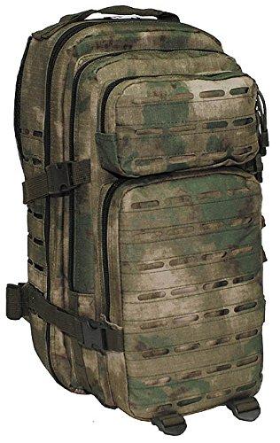 MFH US Rucksack, Assault I, Laser, HDT-camo FG