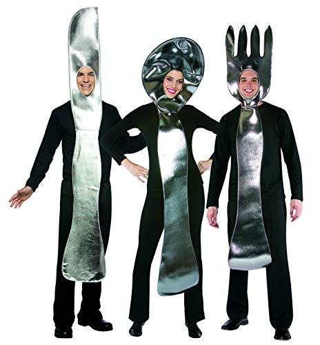 Silver Spoon Costumes - Utensil Set - 3 Costume Pack