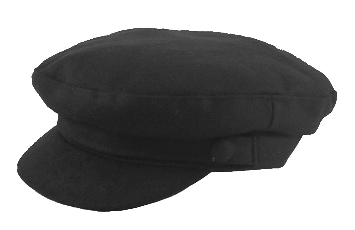 882c3063424 Failsworth Melton Mariner Cap in Black  Amazon.co.uk  Clothing