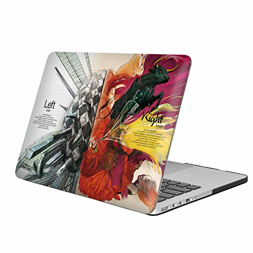 iLeadon Macbook Air 13 inch protective Hard Case Art Printing Ultra Thin shell cover for MacBook Air 13 inch Model A1369 and A1466 (Macbook Air 13