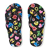 The Childrens Place Kids BG Emoji FF Flat Sandal