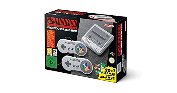 Nintendo Classic Mini Super Nintendo Entertainment System Snes 21