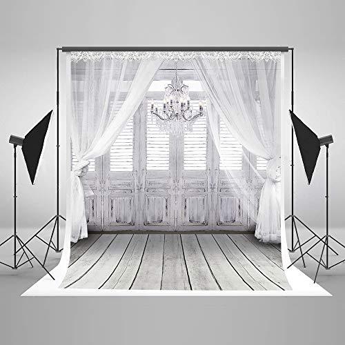 - Kate 5x7ft Retro Wood Door Backdrop Vintage Window Photo Background Portrait Photo Shoot Backgrounds