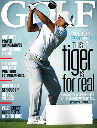 Golf Magazine September 2018 | Tiger Woods