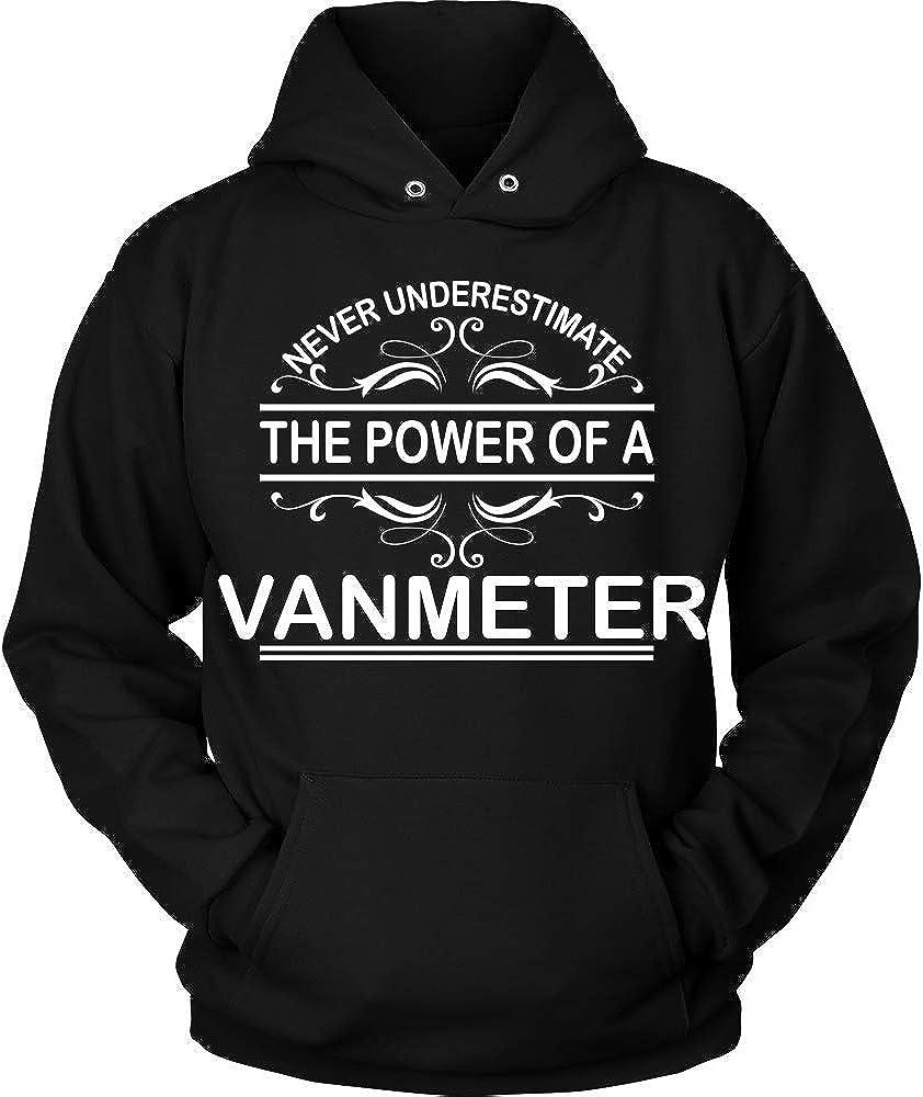 KENTEE Never Underestimate The Power of VANMETER Hoodie Black Hoodie Black