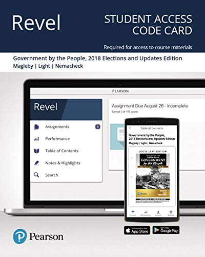Revel for Government By the People, 2018 Elections and Updates Edition -- Access Card (26th Edition)