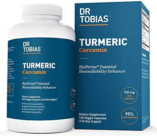 Vitamins & Supplements: Dr. Tobias Turmeric Curcumin
