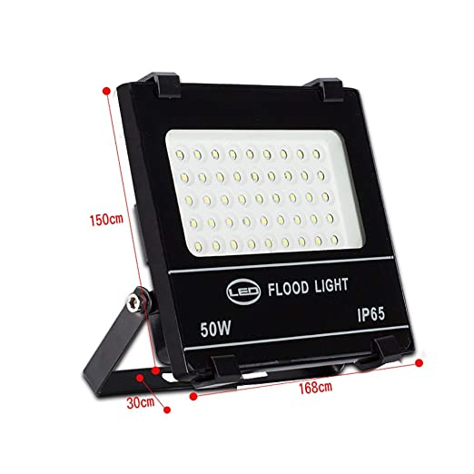 H-XH Exteriores Foco Proyector LED, 50W/100W/150W/200W Impermeable ...