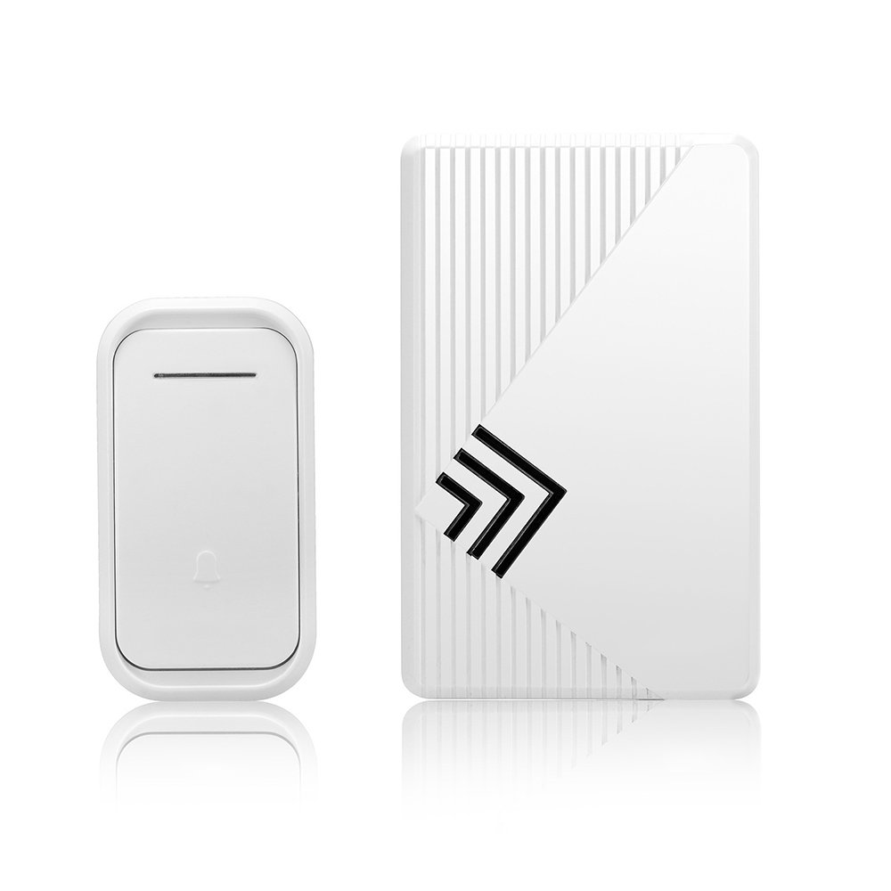 LOHOME® Music doorbell, Wireless Digital Doorbell Water-proof Remote Control Adjustable Ringing Volume 38 Chimes