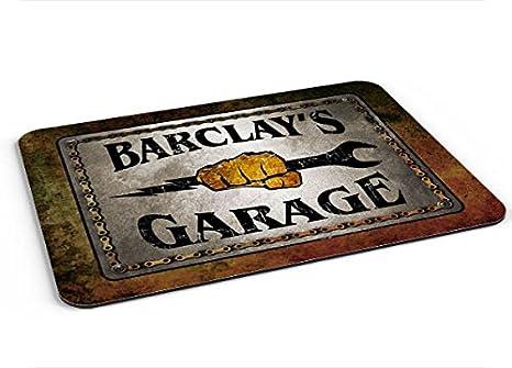 Amazon com : Barclay Garage Mousepad/Desk Valet/Coffee