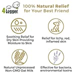 4-Legger-Certified-Organic-Oatmeal-Dog-Shampoo-with-Aloe-and-Lavender-Essential-Oil-All-Natural-Safely-Soothe-Condition-and-Moisturize-Normal-to-Dry-Itchy-Sensitive-Skin-Made-in-USA-16-oz