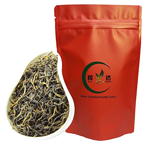 Lida - Yunnan Black Tea Loose Leaf - Chinese Dian Hong Tea - Weight Loss Tea Leaves - 50g/1.80oz